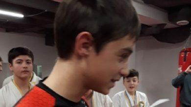 Награждение Дениса за первое место в межклубном турнире по борьбе памятной статуэткой «Лучший боец клуба 2018 года» - https://arhan.club/